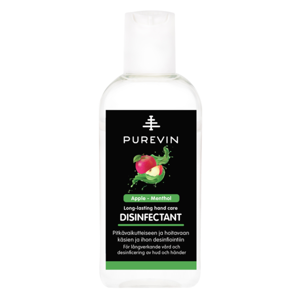 Long-lasting hand care disinfectant